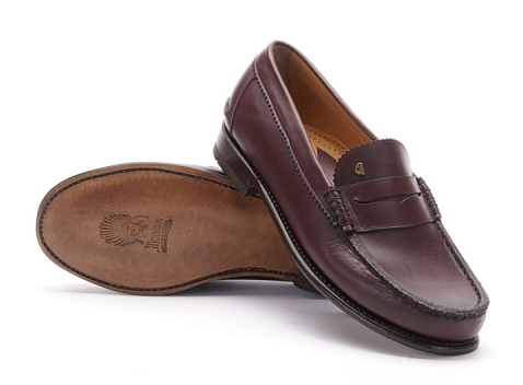 Greve Mocassin Kansas Bordeaux Calf